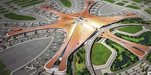 فرودگاه جدید پکن