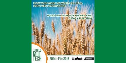 نمایشگاه آرد و ماشین آلات آرد سازی استانبول